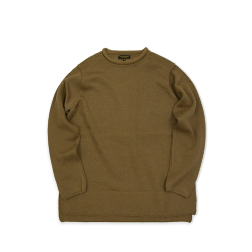 A VONTADE Roll Neck Sweater, Camel