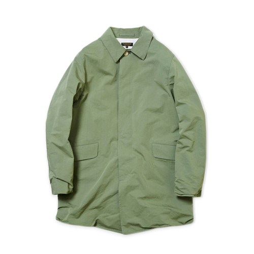 A VONTADE Wrincle Mac Coat -Rubber-, Olive