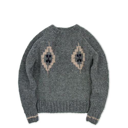 BARNS OUTFITTERS Br-6880 Knit Crew, Grey