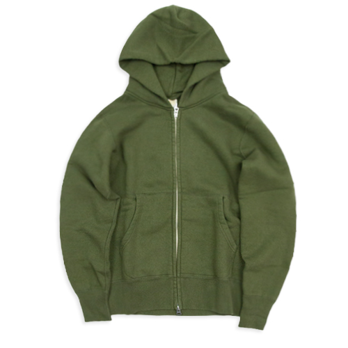 BARNS OUTFITTERS Br-4931 Zip Parka, Olive