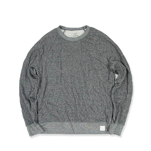 SAVE KHAKIFrench Terry Sweat Shirt (SK-00055_FT), Charcoal