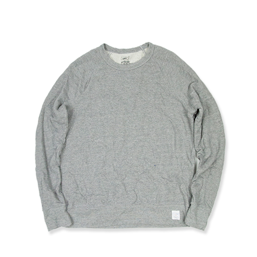 SAVE KHAKIFrench Terry Sweat Shirt (SK-00055_FT), Grey