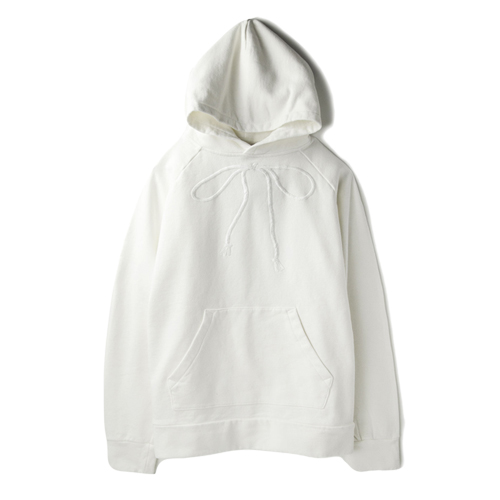 SON OF THE CHEESEEmbroidery Hoodie, White