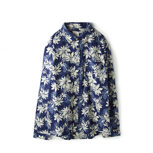 MAX'N CHESTERSignature Woven Shirt,  Navy Floral