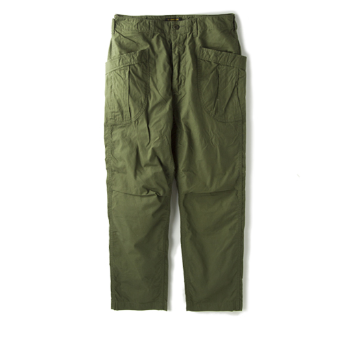 A VONTADE Fatigue Trosers -Ripstop- , Olive