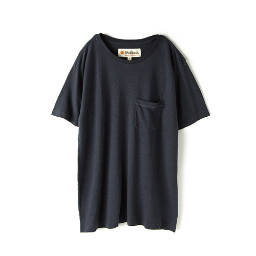 MOLLUSK SURF Hemp Pocket T,  Faded Navy