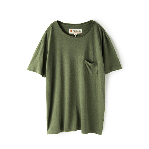 MOLLUSK SURF Hemp Pocket T,  Mash Green