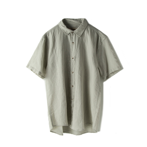 MOLLUSK SURF Summer Shirt,  Fog