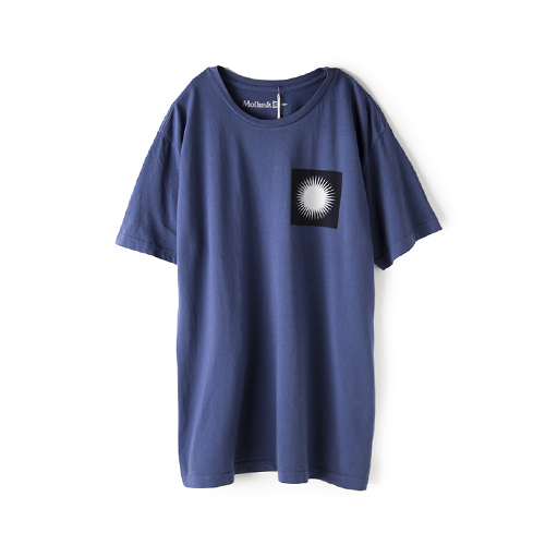 MOLLUSK SURF Box Of sun Tee,  Bright Indigo