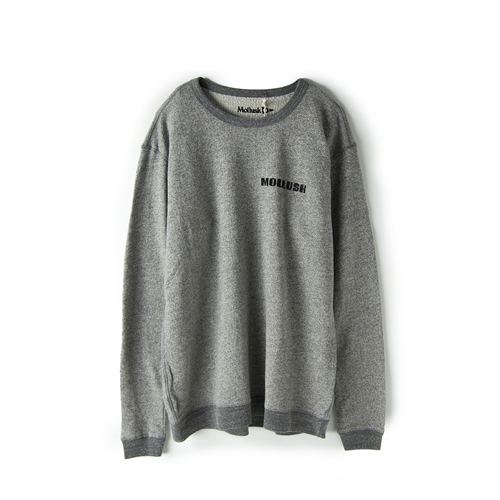 MOLLUSK SURF Transition Crew,  Heather Grey