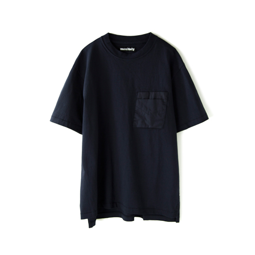 MONITALY S/S Hammer Pocket Tee,  Navy