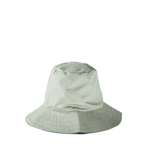 MONITALY Reversible Hat,  Vancloth Beige / Charcoal