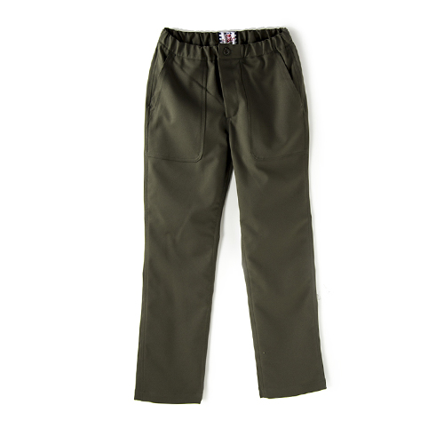 SON OF THE CHEESE Baker Jersey Pant, Olive