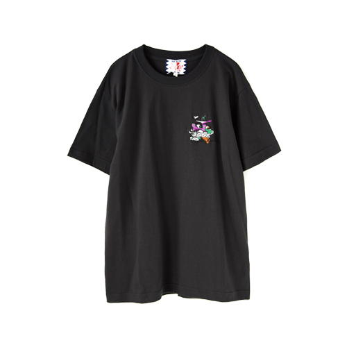 SON OF THE CHEESE Embroidery Tee, Black
