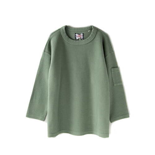SON OF THE CHEESE Army Tee, Olive