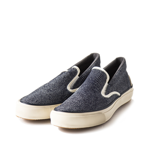 THE HILL SIDE Slip-On, Indigo Jacquard